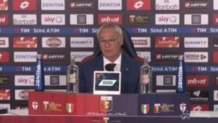 """Roma, Ranieri: """"Mancano tre partite, dobbiamo fare del nostro meglio"""""""