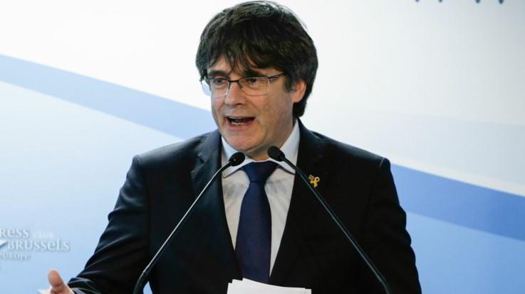 """Europee, tribunale Madrid conferma la decisione della Corte suprema: """"Puigdemont si può candidare"""""""