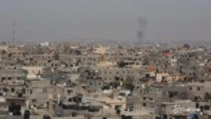 Gaza, in vigore il cessate il fuoco