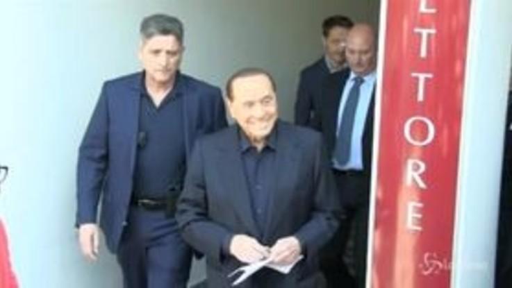 """Berlusconi dimesso: """"Ho pensato di essere arrivato alla fine del girone"""""""