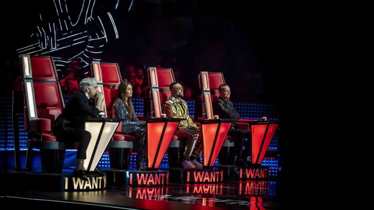 Rai2, terza Blind Audition per 'The Voice of Italy'