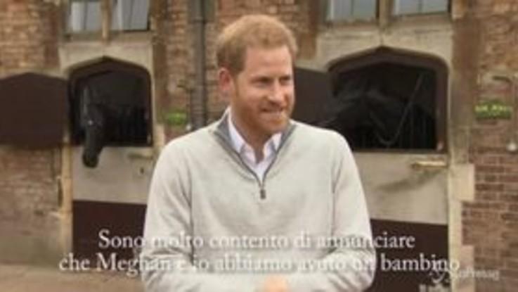 """Harry annuncia la nascita del figlio: """"Un'esperienza elettrizzante"""""""