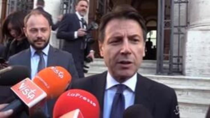 """Caso Siri, Conte: """"Faccio il premier non l'arbitro di calcio"""""""