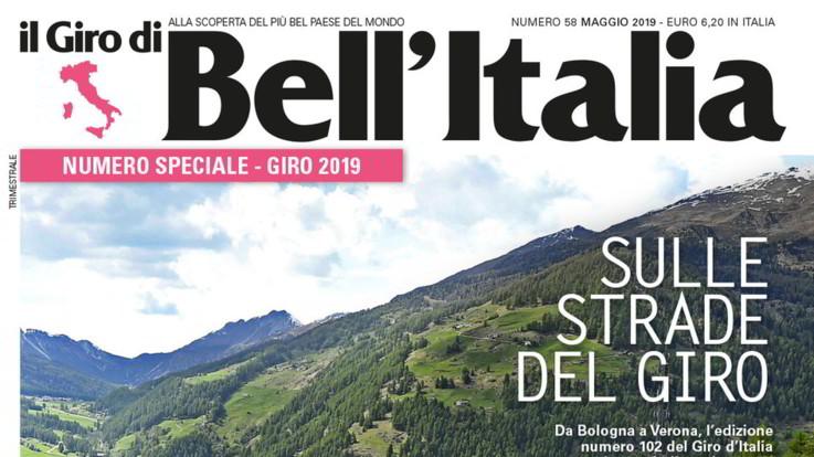 In edicola 'Il Giro di Bell'Italia': 11 itinerari dedicati alla corsa rosa 2019