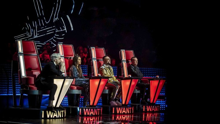 The voice of Italy: ecco i nuovi talenti della terza blind audition