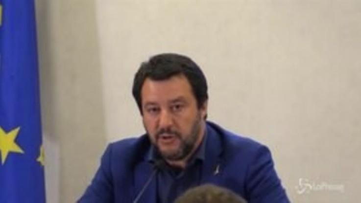 """Tangenti Lombardia, Salvini: """"Le questioni morali non riguardano la Lega"""""""