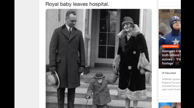 """""""Royal baby lascia l'ospedale"""": giornalista Bbc twitta foto scimpanzé e viene licenziato"""