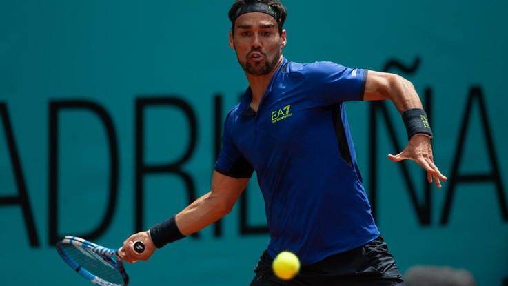 Tennis, Fognini si arrende a Thiem, a Madrid avanti Djokovic, Federer e Nadal