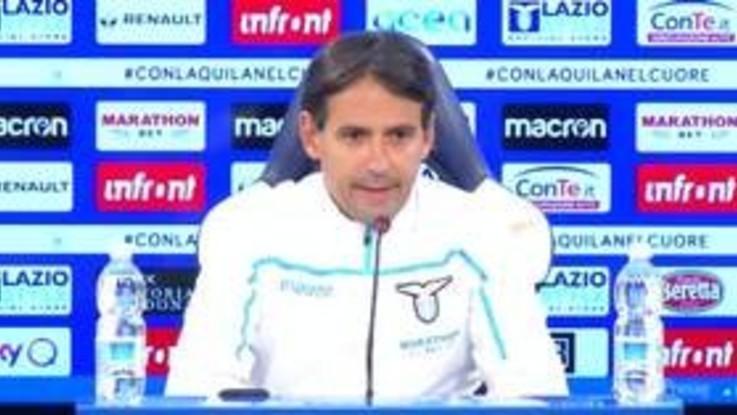"""Lazio, Inzaghi: """"Vogliamo l'Europa dal campionato"""""""