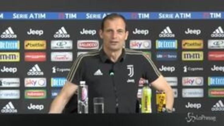 """Juve, Allegri: """"Incontrerò Agnelli la prossima settimana"""""""