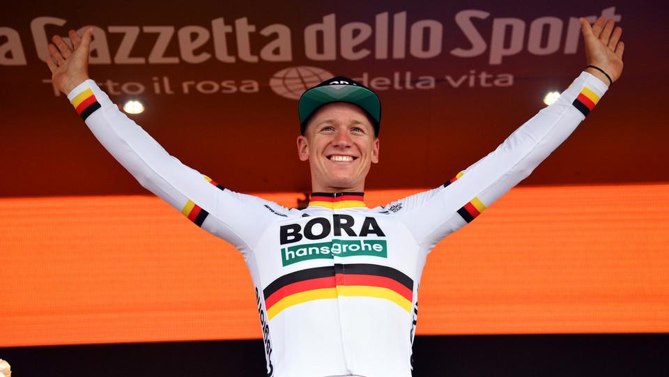 Ackermann, prima vittoria al Giro, la 36esima per un tedesco ©