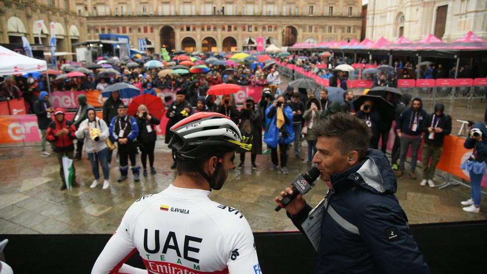 Scene dalla partenza da Bologna sotto la pioggia ©