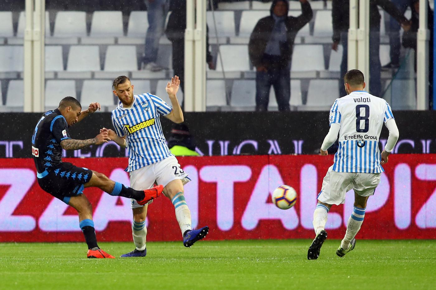 Serie A, Spal Napoli 1-2   Il Fotoracconto