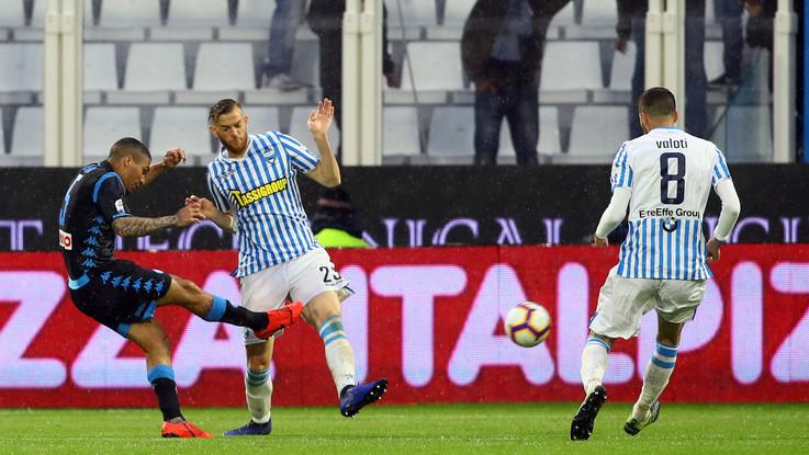 Serie A, Spal Napoli 1-2 | Il Fotoracconto