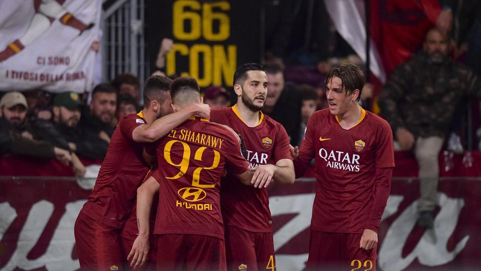 Florenzi festeggia il suo gol ©