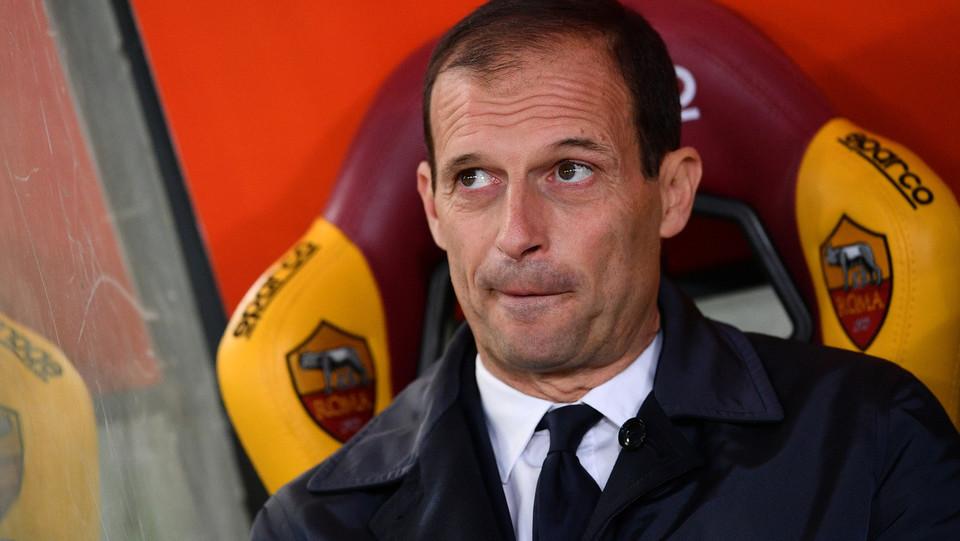 Massimiliano Allegri, terza sconfitta per la Juve ©
