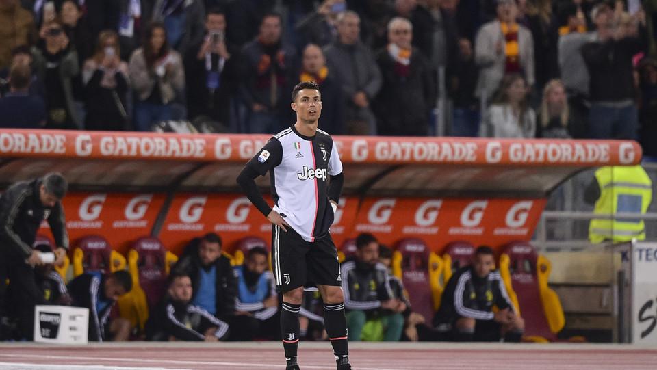Cristiano Ronaldo non è contento ©