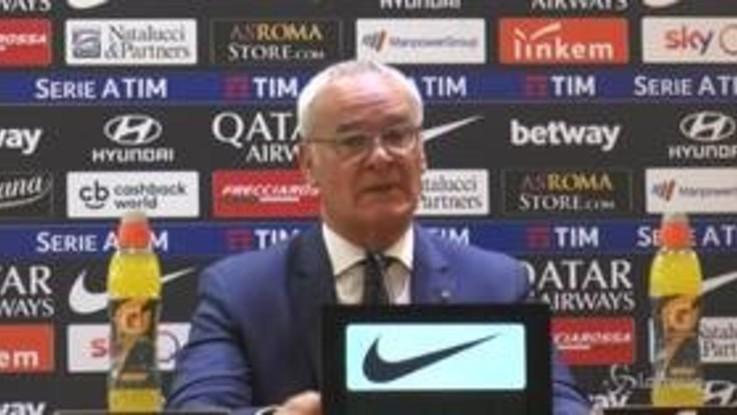 """Roma, Ranieri: """"Champions? Non dipende da noi, dobbiamo dare il massimo"""""""