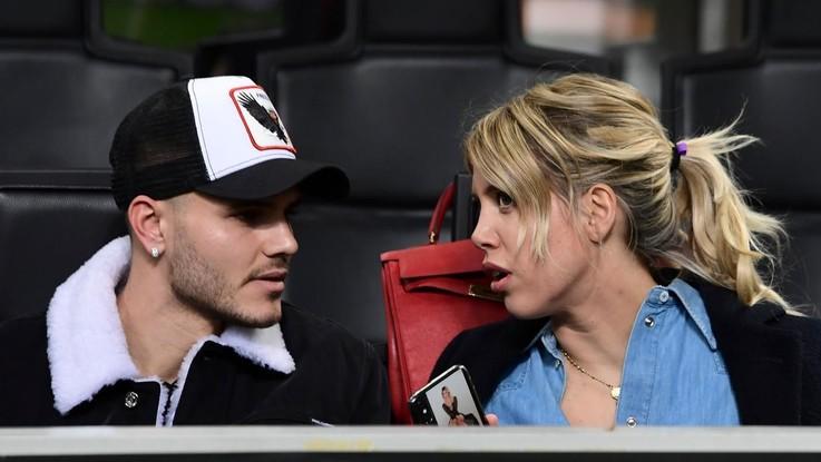"""Wanda Nara: """"Icardi resta all'Inter. Juve? Può giocare con Ronaldo"""""""