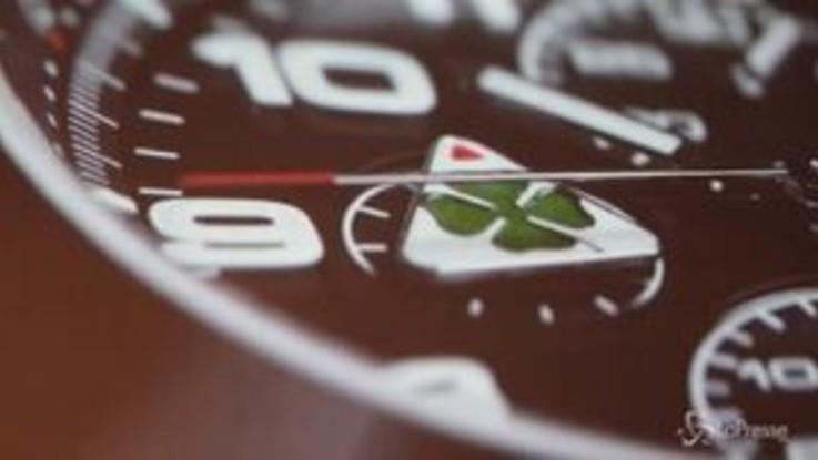 Quadrifoglio Verde di Alfa Romeo ispira il nuovo cronografo Eberhard