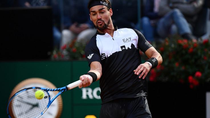 Tennis, a Roma avanti Fognini e Cecchinato, fuori Sonego e Sara Errani