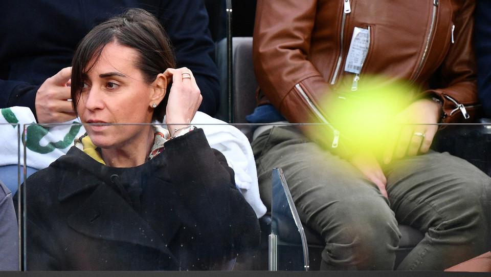 Flavia Pennetta assiste alla partita del marito, Fabio Fognini ©