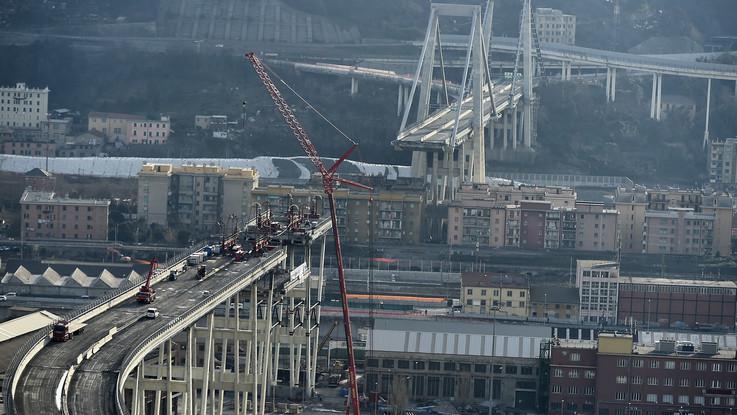 Genova, antimafia ferma un'impresa che lavora alla ricostruzione del Ponte Morandi