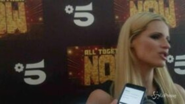 "Michelle Hunziker: ""Io trap queen per 'All together now'? Mi sono divertita"""