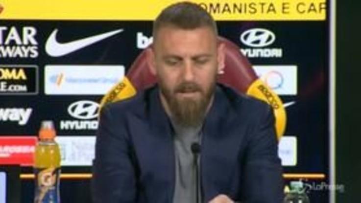 """De Rossi: """"Scelta di rimanere fedele alla Roma non la cambierei di una virgola"""""""