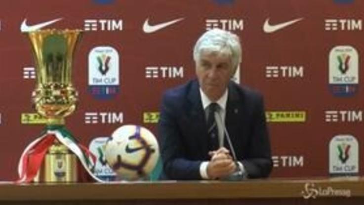 """Coppa Italia, Gasperini: """"L'Atalanta è molto concentrata"""""""