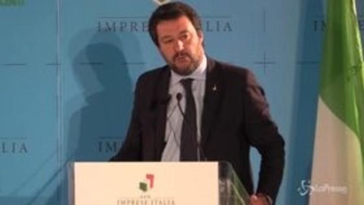 """Salvini: """"Servono scelte coraggiose, non irresponsibili"""""""