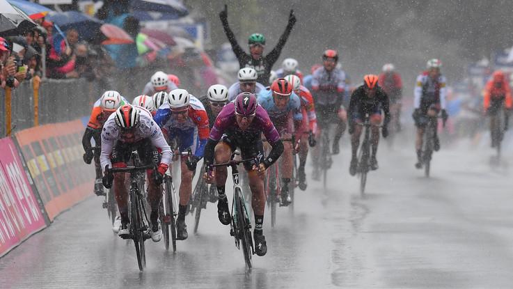 Giro d'Italia, quinta tappa Frascati-Terracina - Il fotoracconto
