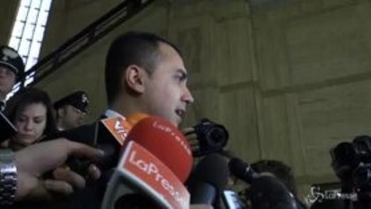 """Di Maio: """"Più che allo spread penso ai cittadini, basta tensioni nel governo"""""""