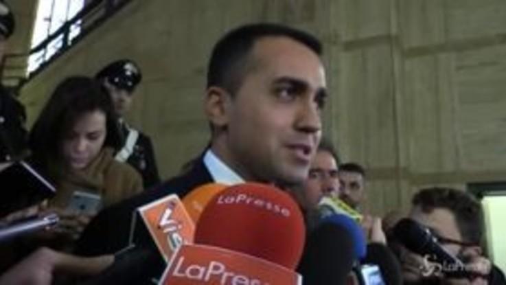 """Giustizia, Di Maio: """"La riforma è pronta ma la Lega fa saltare le riunioni"""""""