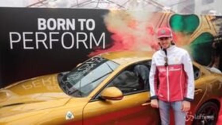 Brescia, al via la Mille Miglia nel segno dell'Alfa Romeo