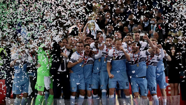 Coppa Italia, la Lazio trionfa con Milinkovic-Correa. L'Atalanta si arrende