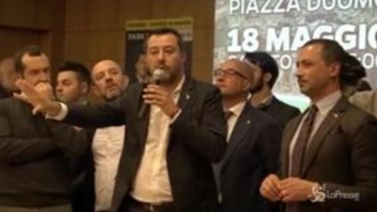 """Salvini e la camera da letto al Viminale: """"Chissà cosa facevano lì i miei predecessori"""""""