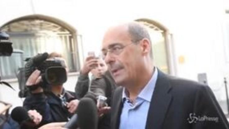 """Voli di stato, Zingaretti: """"Si indaghi, ma fallito il progetto di Salvini"""""""