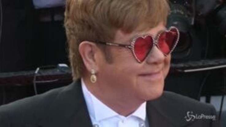 "Cannes, Elton John anima il Festival con ""Rocketman"""