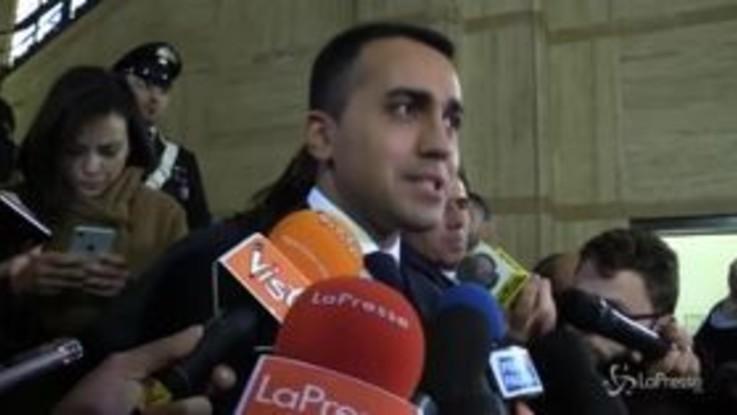 """Di Maio ribadisce: """"Mai legge di bilancio che aumenti il debito pubblico"""""""