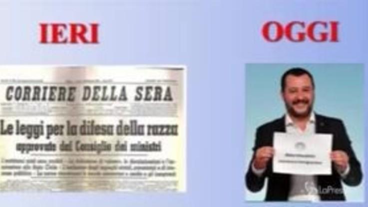 Salvini come il Duce, ecco il video degli studenti che è costato la cattedra alla prof
