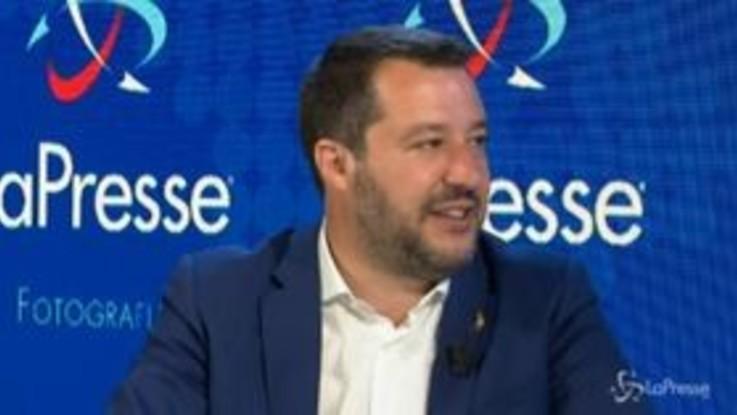 """Salvini: """"Milan in Champions? Sperem, abbiamo fatto tanti errori"""""""