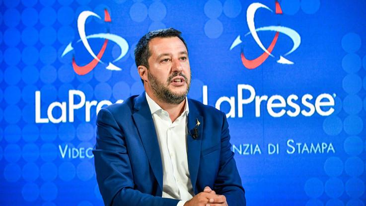 """PoliticaPresse, Salvini: """"Basta con i no a tutto, decreto Di Maio da cambiare"""""""