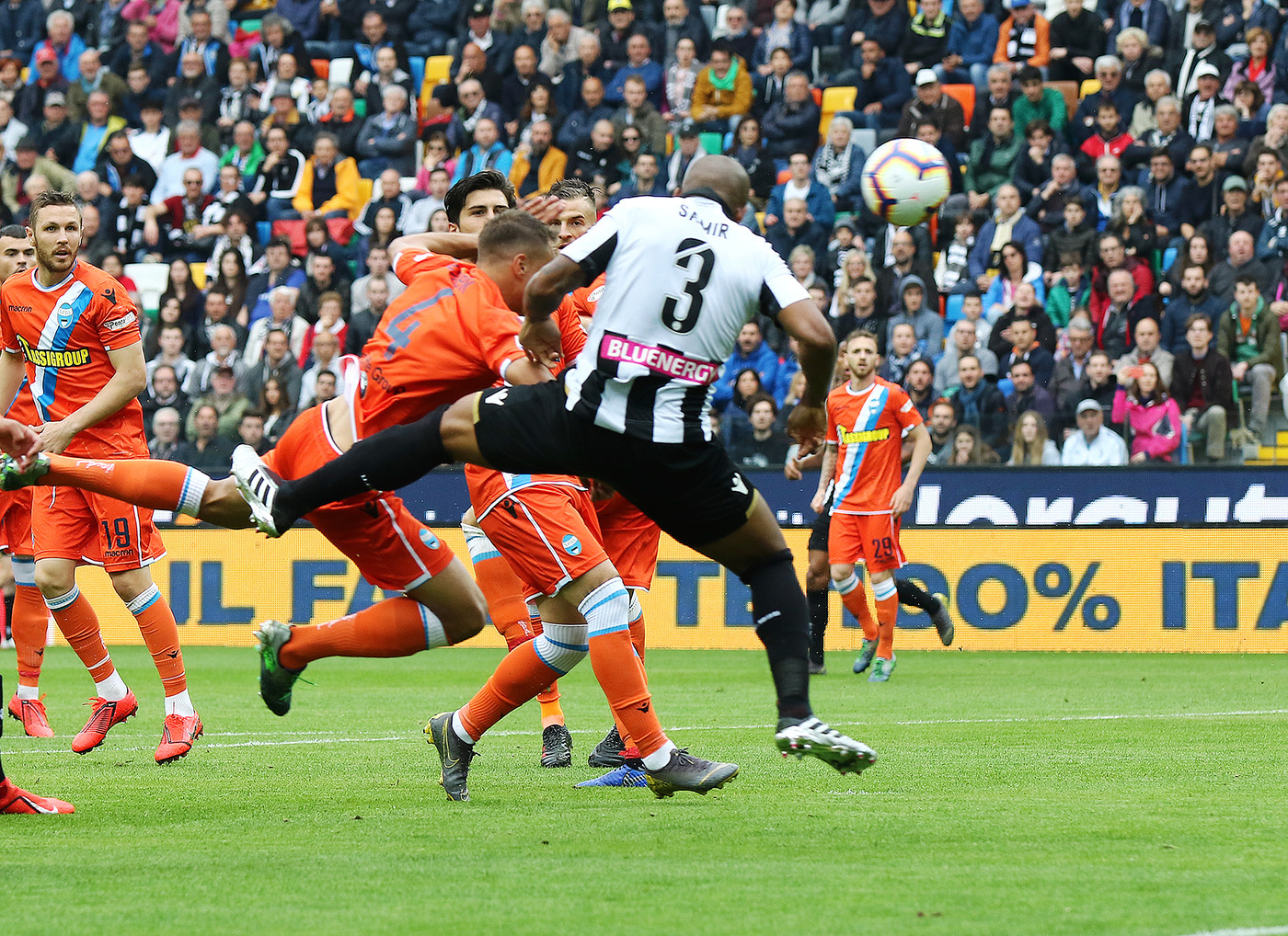 Serie A, Udinese-Spal 3-2   Il fotoracconto