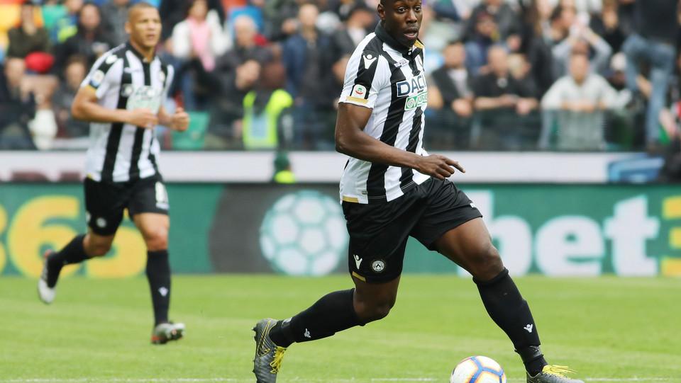 Dopo tre minuti Okaka segna ancora e l'Udinese vola 3-0 ©