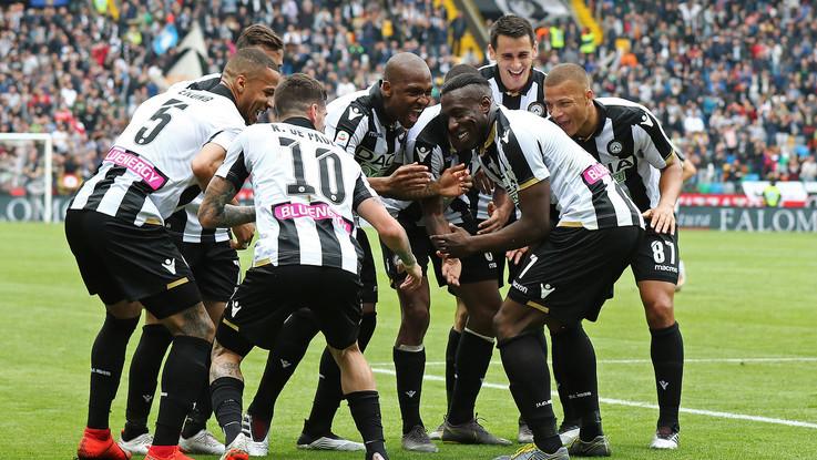 Serie A, doppio Okaka: l'Udinese supera la Spal e vede la salvezza