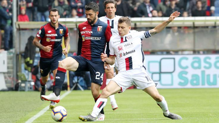 Serie A, Criscito replica a Pavoletti: Genoa pari thrilling con Cagliari