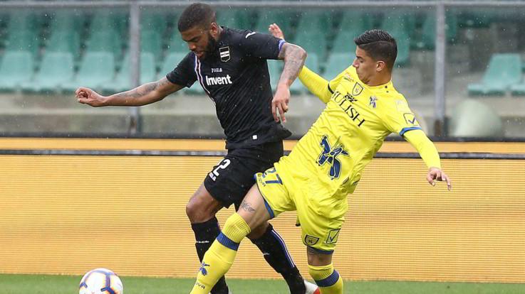 Serie A, Chievo e Samp si annullano: 0-0 a Verona, Quagliarella a secco