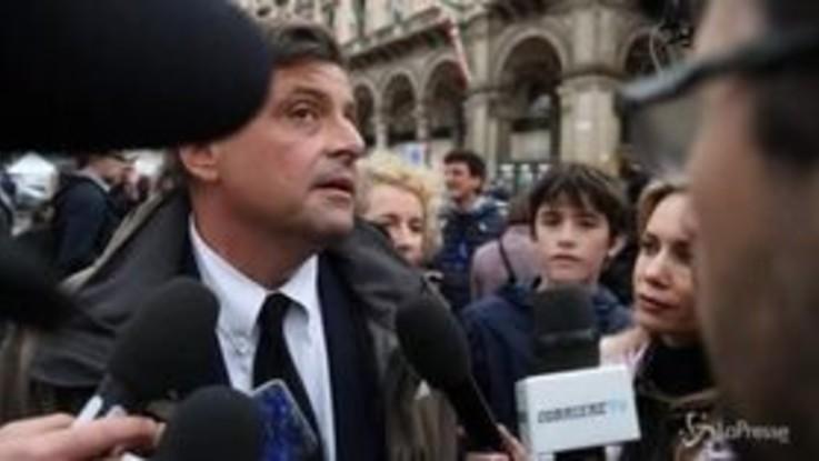 """Manifestazione dei sovranisti, Calenda: """"Noi non siamo in serie C"""