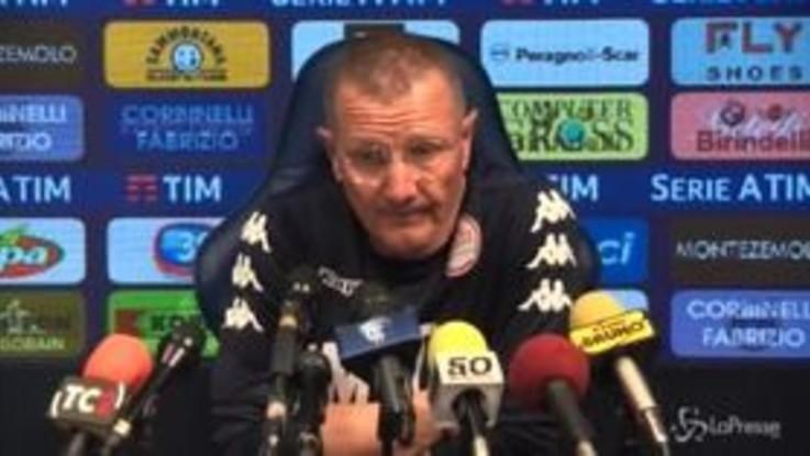 """Empoli, Andreazzoli: """"Gara difficile, noi bravi a interpretarla"""""""